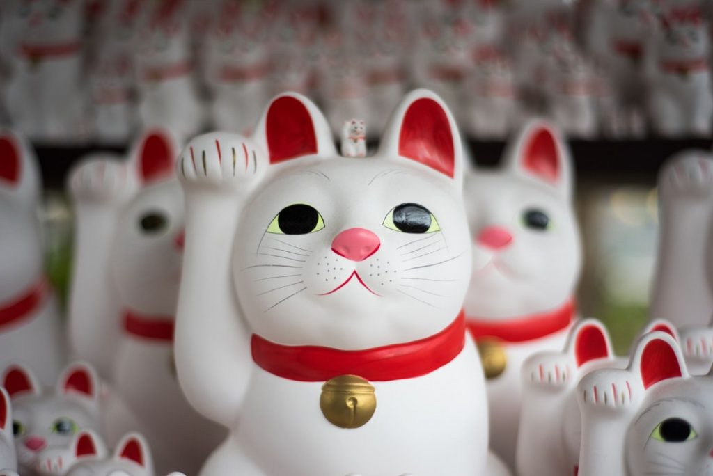 Glücks-Katzen